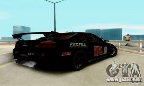 Nissan Silvia S15 Tunable para GTA San Andreas interior