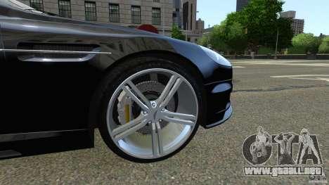 Aston Martin DBS v1.0 para GTA 4 vista interior