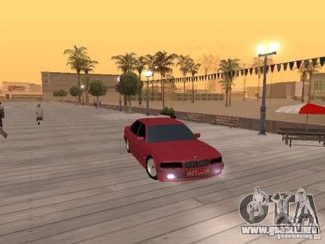 BMW 750iL e38 diplomático para la visión correcta GTA San Andreas
