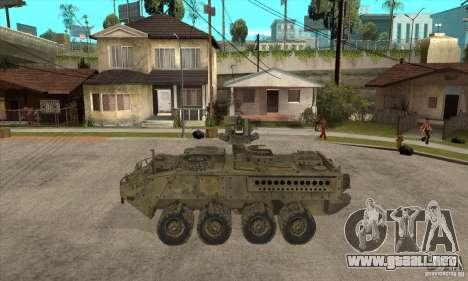Stryker CDMW2 para GTA San Andreas left