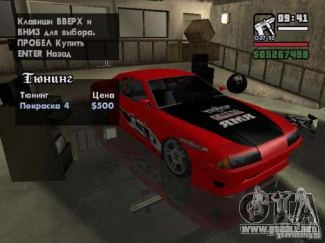 Ultra Elegy v1.0 para la vista superior GTA San Andreas