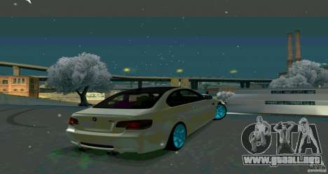 BMW E92 para GTA San Andreas left