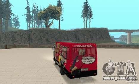 Bogdan A091 para GTA San Andreas left