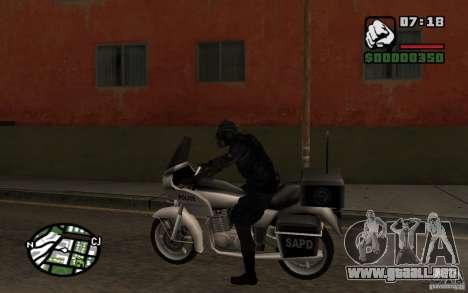 Blackwatch del prototipo para GTA San Andreas tercera pantalla