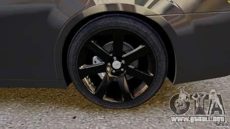 Chrysler 300 SRT8 2012 para GTA 4 vista interior
