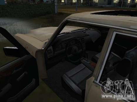 Mercedes-Benz de Call of Duty 4 para la visión correcta GTA San Andreas