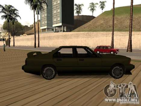 Sentinel XS para GTA San Andreas left
