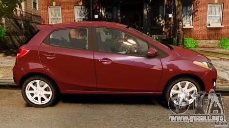 Mazda 2 2011 para GTA 4 left