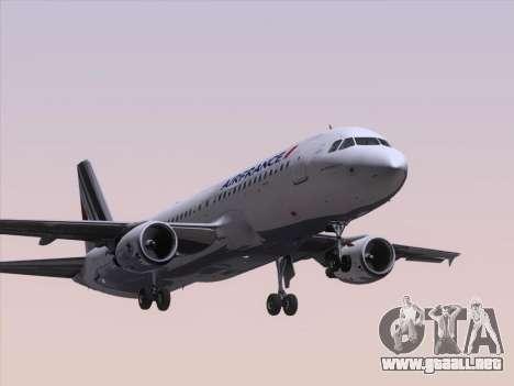 Airbus A320-211 Air France para GTA San Andreas left