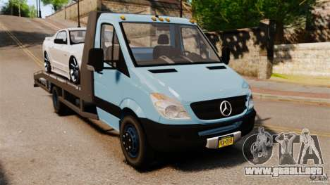 Mercedes-Benz Sprinter 3500 Car Transporter para GTA 4