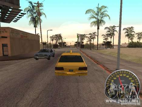 Lamborghini velocímetro para GTA San Andreas
