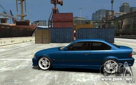 BMW M3 E36 v1.0 para GTA 4 Vista posterior izquierda