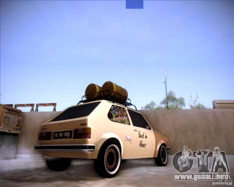 Volkswagen Golf MK1 rat style para GTA San Andreas left