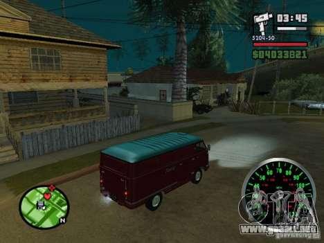 762 YERAZ en para GTA San Andreas vista hacia atrás