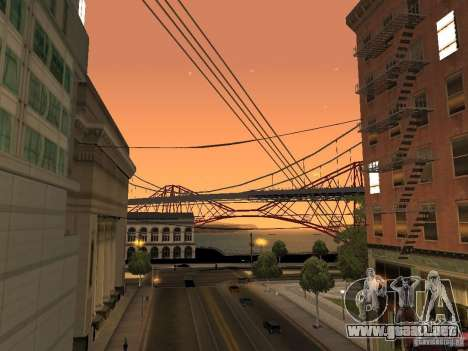 New Sky Vice City para GTA San Andreas tercera pantalla