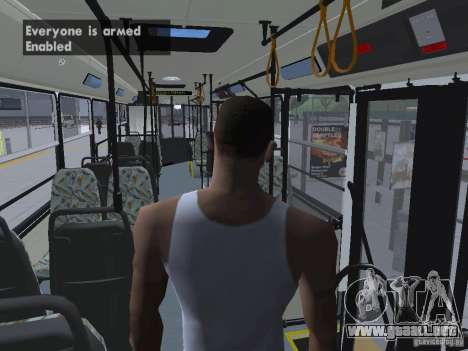 Ikarus 415 para vista inferior GTA San Andreas