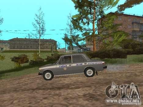 VAZ 21063 académico para GTA San Andreas vista posterior izquierda