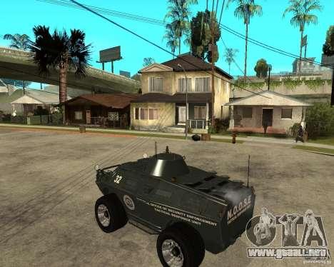 La APC de GTA IV para GTA San Andreas left