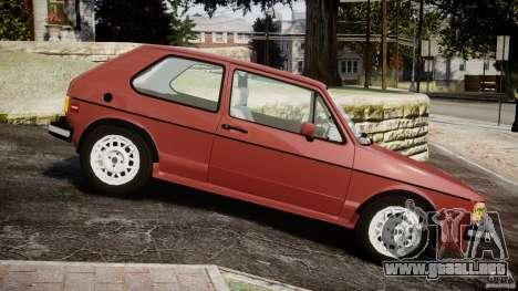 Volkswagen Rabbit 1986 para GTA 4 left