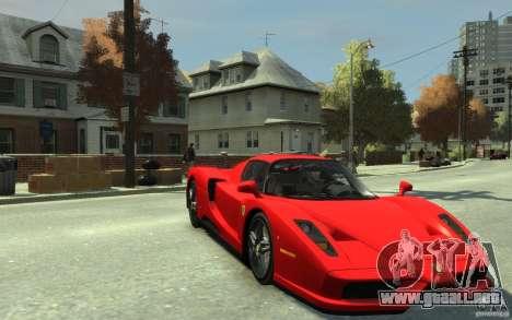 Ferrari Enzo [EPM] v1 para GTA 4 vista hacia atrás