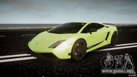 Lamborghini Gallardo LP570-4 Superleggera 2010 para GTA 4