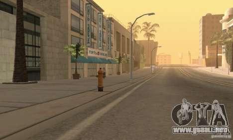 Servicio de parte de cinco estrellas y repuestos para GTA San Andreas sexta pantalla