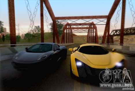 Marussia B2 2010 para visión interna GTA San Andreas