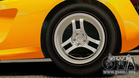 Audi R8 Spyder para GTA 4 vista hacia atrás