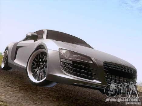 Audi R8 Hamann para la visión correcta GTA San Andreas