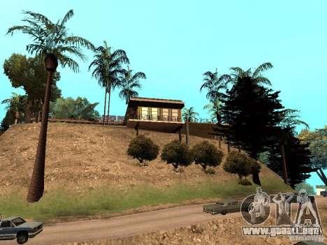 Reteksturirovannyj casa CJeâ V1 para GTA San Andreas tercera pantalla