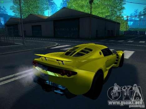 Hennessey Venom GT Spyder para GTA San Andreas left