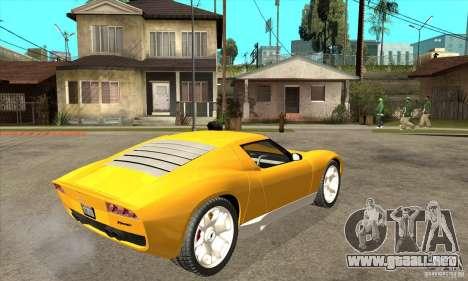 Lamborghini Miura Concept 2006 para la visión correcta GTA San Andreas