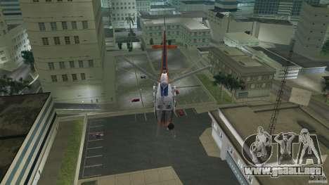 Eurocopter As-350 TV Neptun para GTA Vice City vista lateral