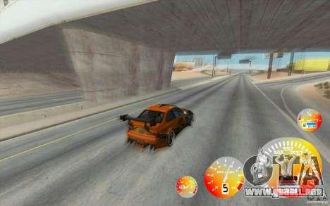 CraZZZy velocímetro v. 1.2 + limitada diesel para GTA San Andreas segunda pantalla