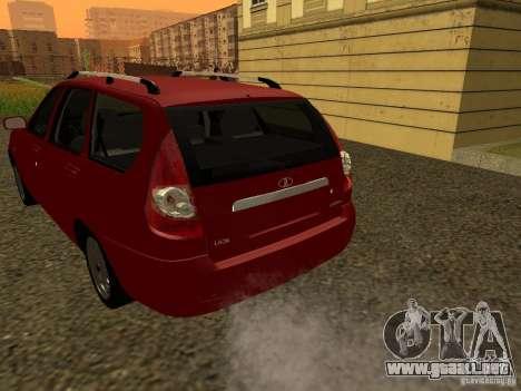 VAZ-2171 para la visión correcta GTA San Andreas