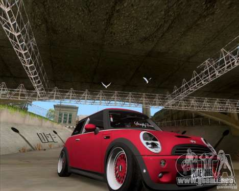 Mini Cooper S Euro para la visión correcta GTA San Andreas