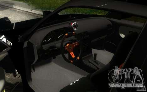 Nissan Silvia RPS13 Noxx para vista lateral GTA San Andreas
