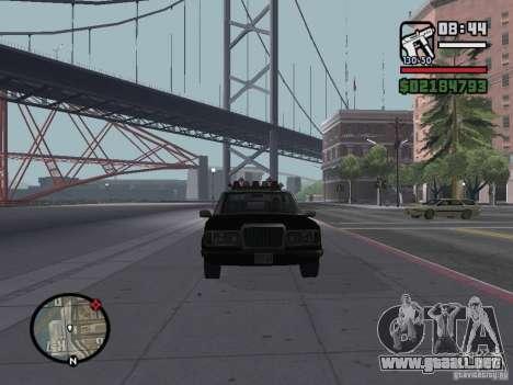 Admiral SFPD para la visión correcta GTA San Andreas