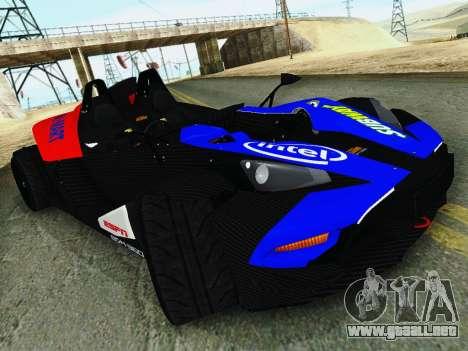 KTM X-Bow 2013 para la visión correcta GTA San Andreas