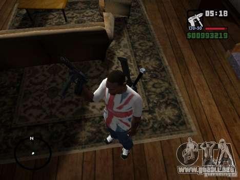 Tec9 HD para GTA San Andreas segunda pantalla
