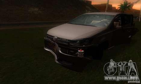 Volkswagen Polo 1.2 TSI para vista lateral GTA San Andreas