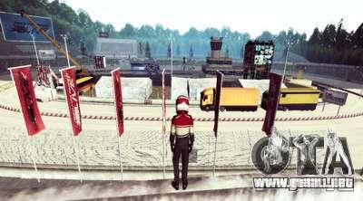 NFS:Shift Drift Tracks para GTA San Andreas tercera pantalla
