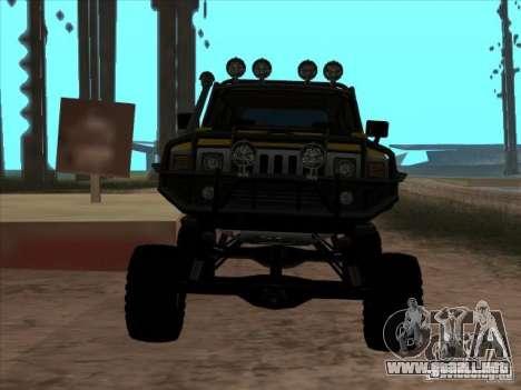 Hummer H3 Trial para la visión correcta GTA San Andreas