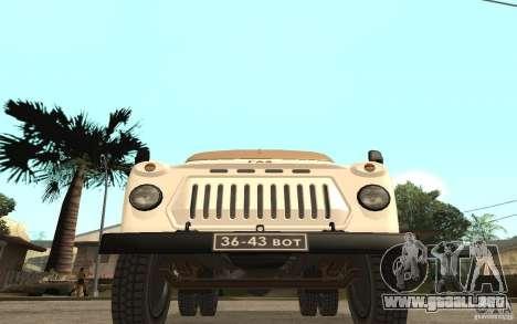 Gaz-52 para GTA San Andreas left