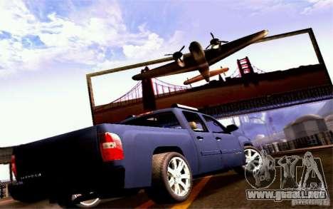 GMC Sierra 2011 para la visión correcta GTA San Andreas