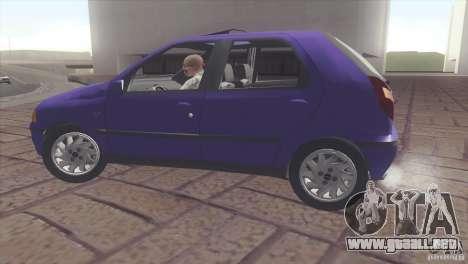 Fiat Palio 16v para la visión correcta GTA San Andreas