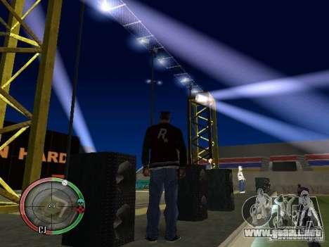 Concierto del AK-47 v2 para GTA San Andreas octavo de pantalla