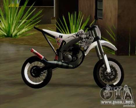 Honda 50 Tuned Stunt para la visión correcta GTA San Andreas