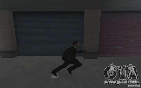 Animación de GTA IV v 2.0 para GTA San Andreas segunda pantalla