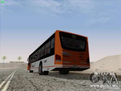 Design X4 para GTA San Andreas vista posterior izquierda
